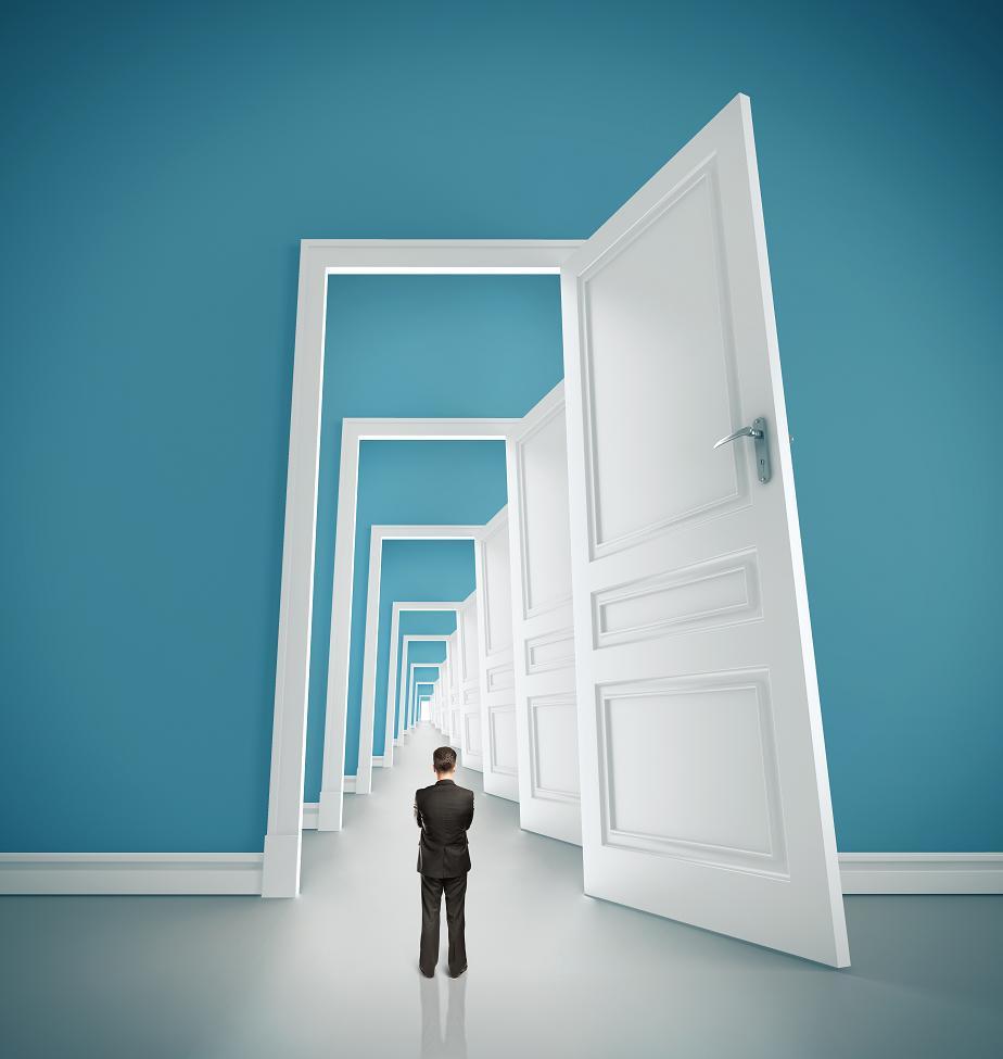 The power of an open door for 0pen door