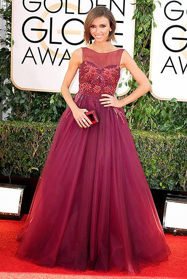 Giuliana Rancic in Golden Globes 2014