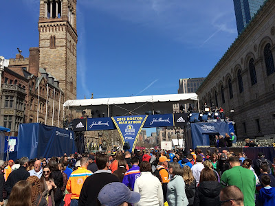 Boston Marathon Finish Line - Photo Credit Justin Ferguson