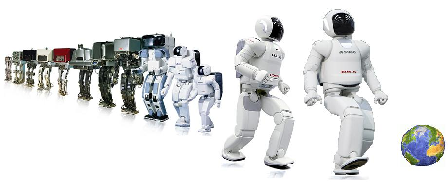 how to make asimo robot