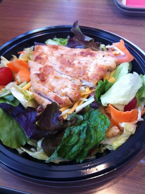 salad at Mcdonalds