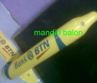 Balon Tepuk Bank BTN