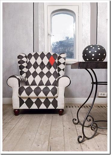 Como decorar un sill n viejo - Transformar muebles viejos ...