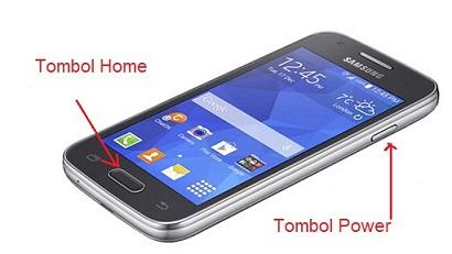 Cara Screenshot di HP Samsung Galaxy Ace 4