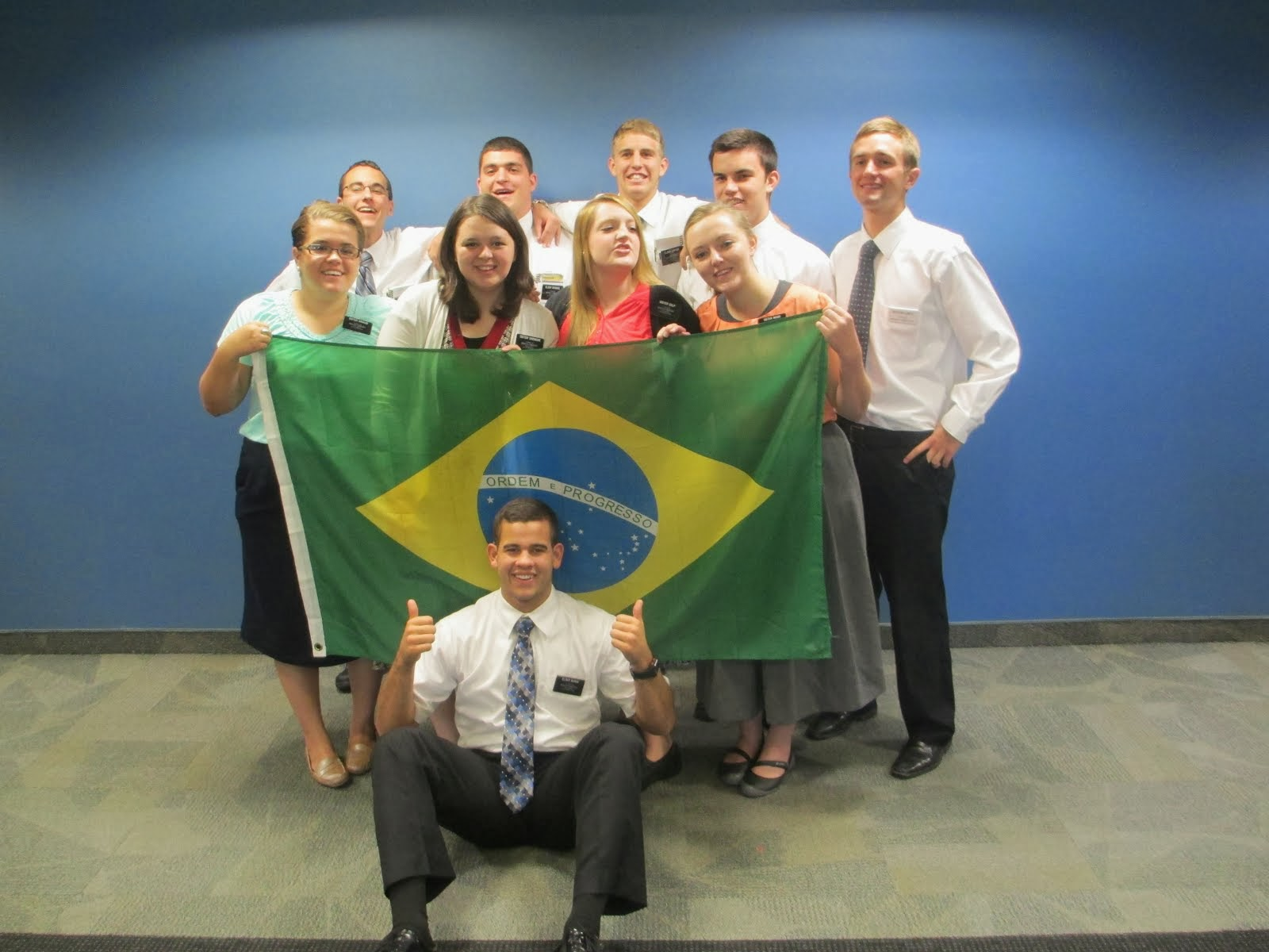 Elder McRae's MTC group