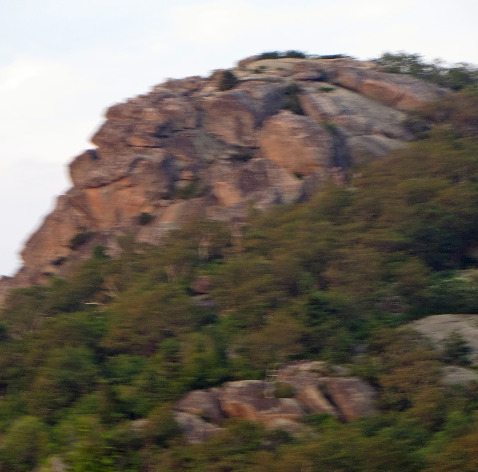 Old Rag Mountain Hikes/Patrols By RSL: July 2012