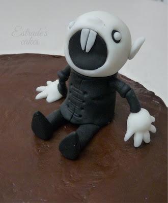 tarta de chocolate Nosferatu - 4