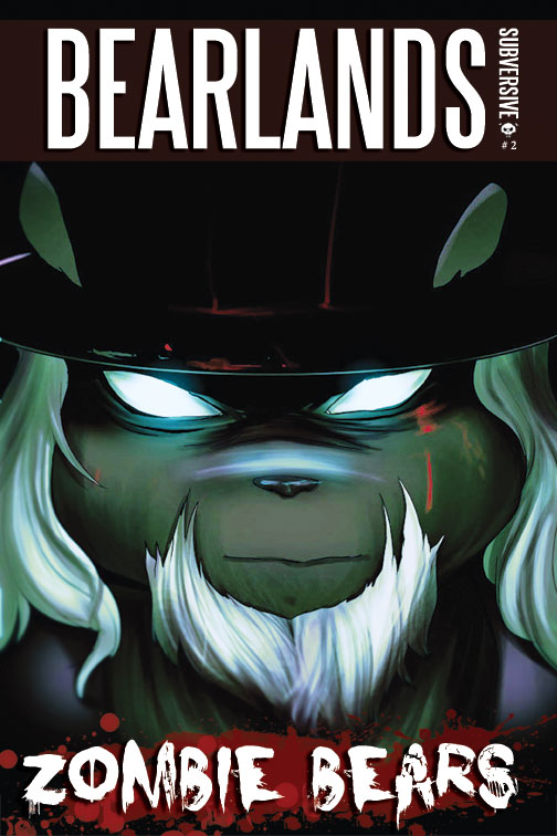 Bearlands, Zombie Bears Issue 2 Cover