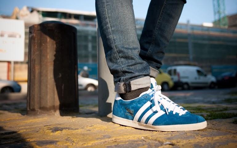 Adidas Gazelle Og Azul