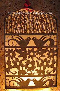 paper cut lantern