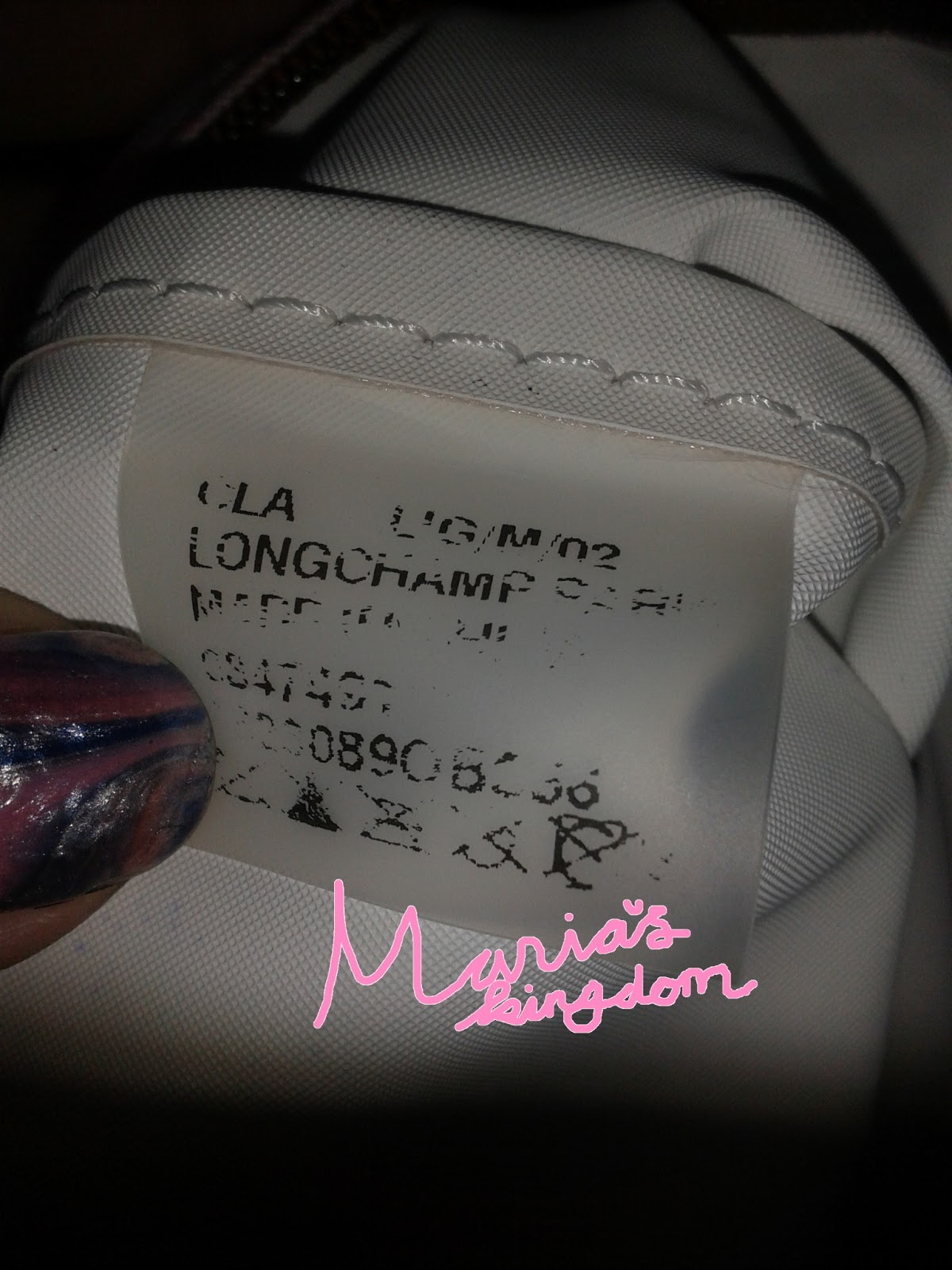 Marias Kingdom Cara Membedakan Tas Longchamp Palsu Dan Asli Le Pliage Neo Medium Tote Hitam Ini Ukuran M Warna Ungu Made In China