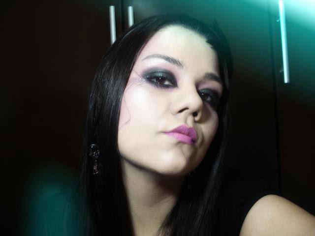 Maquiagem Pink, Rock, glam, dark