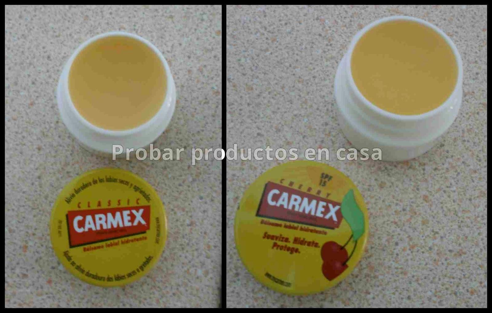 Carmex Classic y Cereza