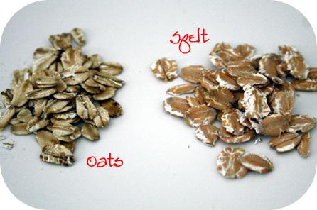 DIY Muesli - oats and spelt
