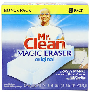 Mr Clean Magic Eraser Mechanism Damage Car Paint