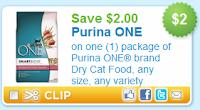 $2.00 off Purina One