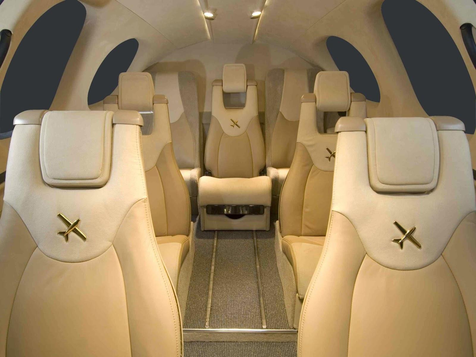Cirrus SF50 Personal Private Jet Cabin