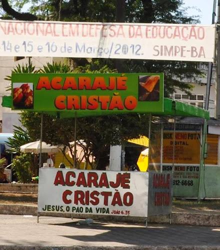 CACETE, DEIXA MINHA RELIGIÃO EM PAZ!