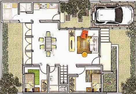 Rumah Minimalis 6 X 6   a Rumah