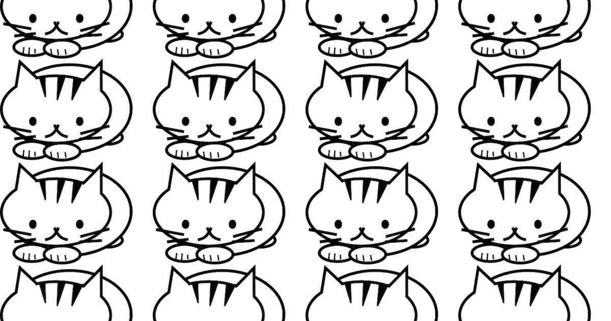 Free printable cat coloring pages - ausdruckbares Malpapier ...