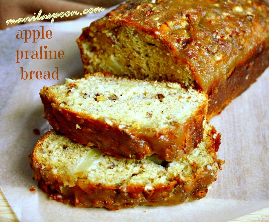 Apple Praline Bread by Manila Spoon