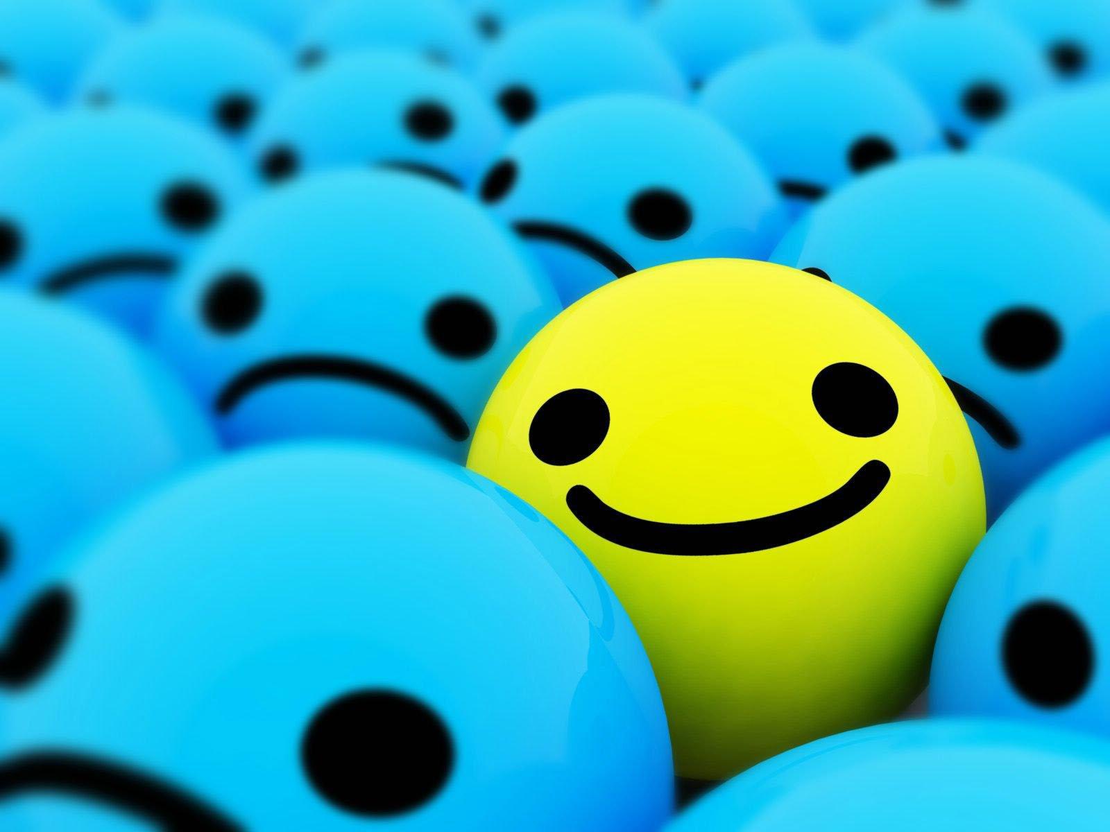 Smiley optimisme