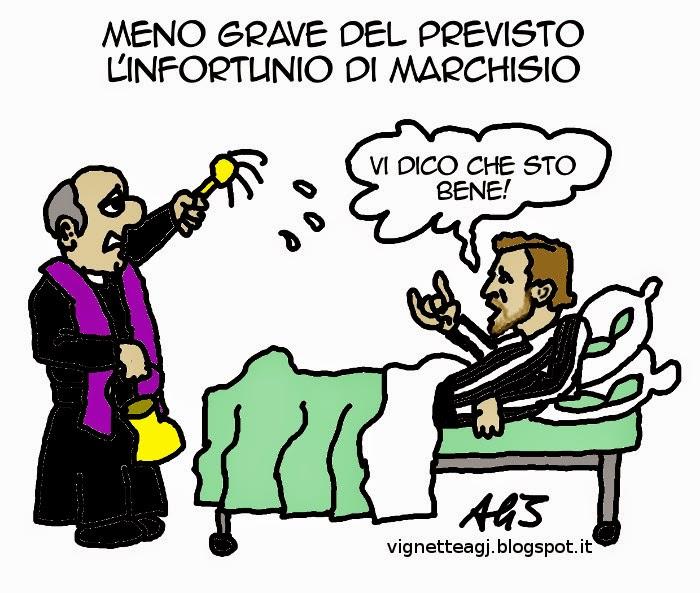 Marchisio, calcio, sport, umorismo, vignetta