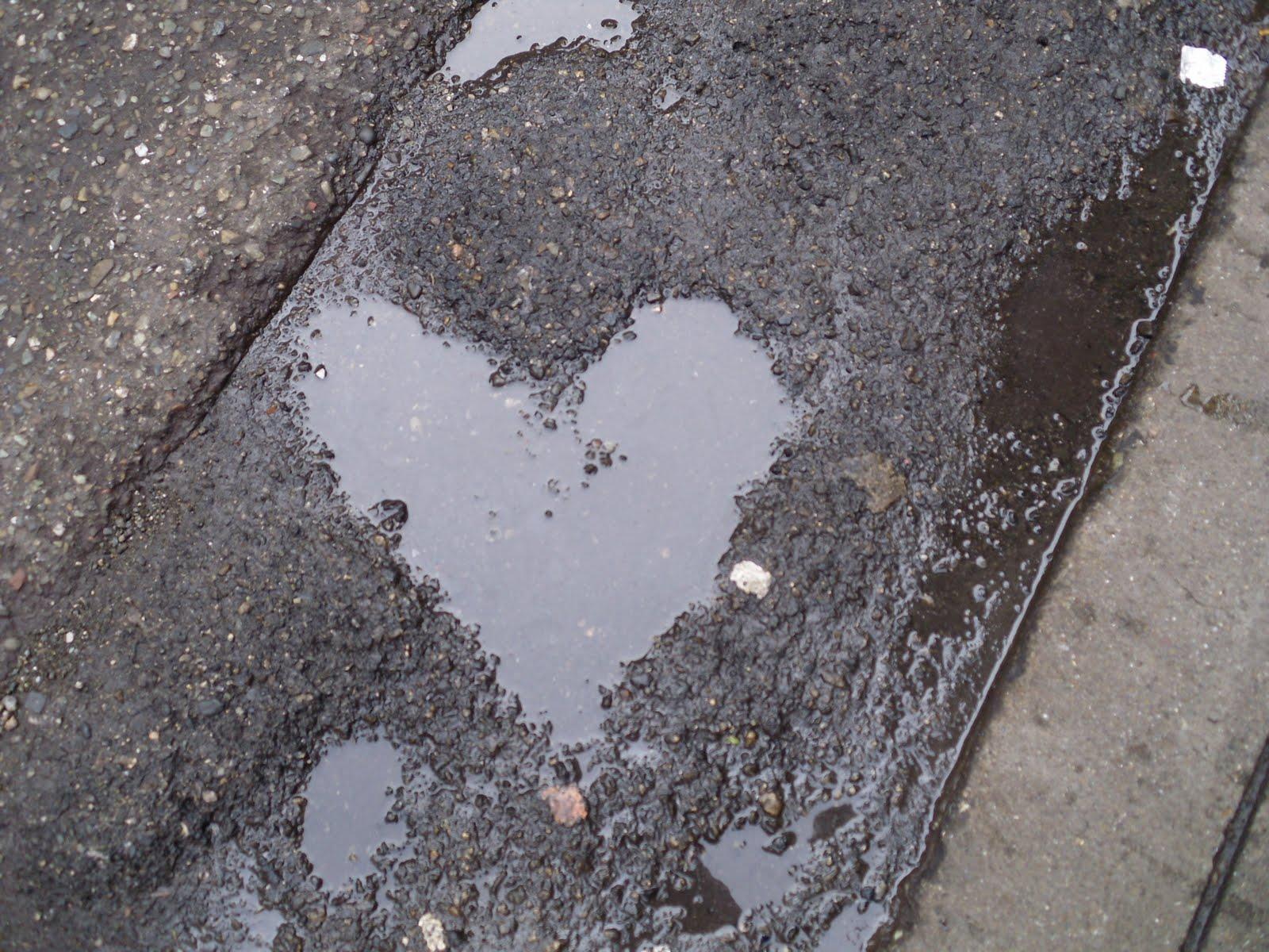 Gotas de chuva num Coração