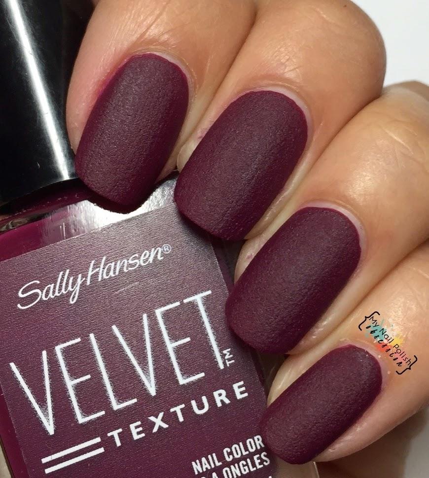 Velvet Nail Polish: My Nail Polish Obsession: Sally Hansen Texture Velvets