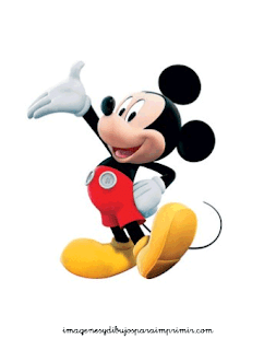dibujos para imprimir Mickey mouse