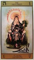 El Sumo Sacerdote- Tarot Dalí