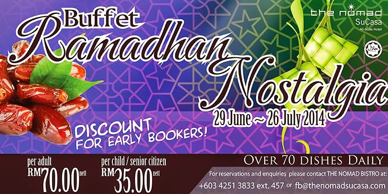 Buffet Ramadhan  The Nomad
