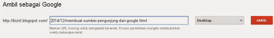 Minta Ditelusuri dan Diindex Google3