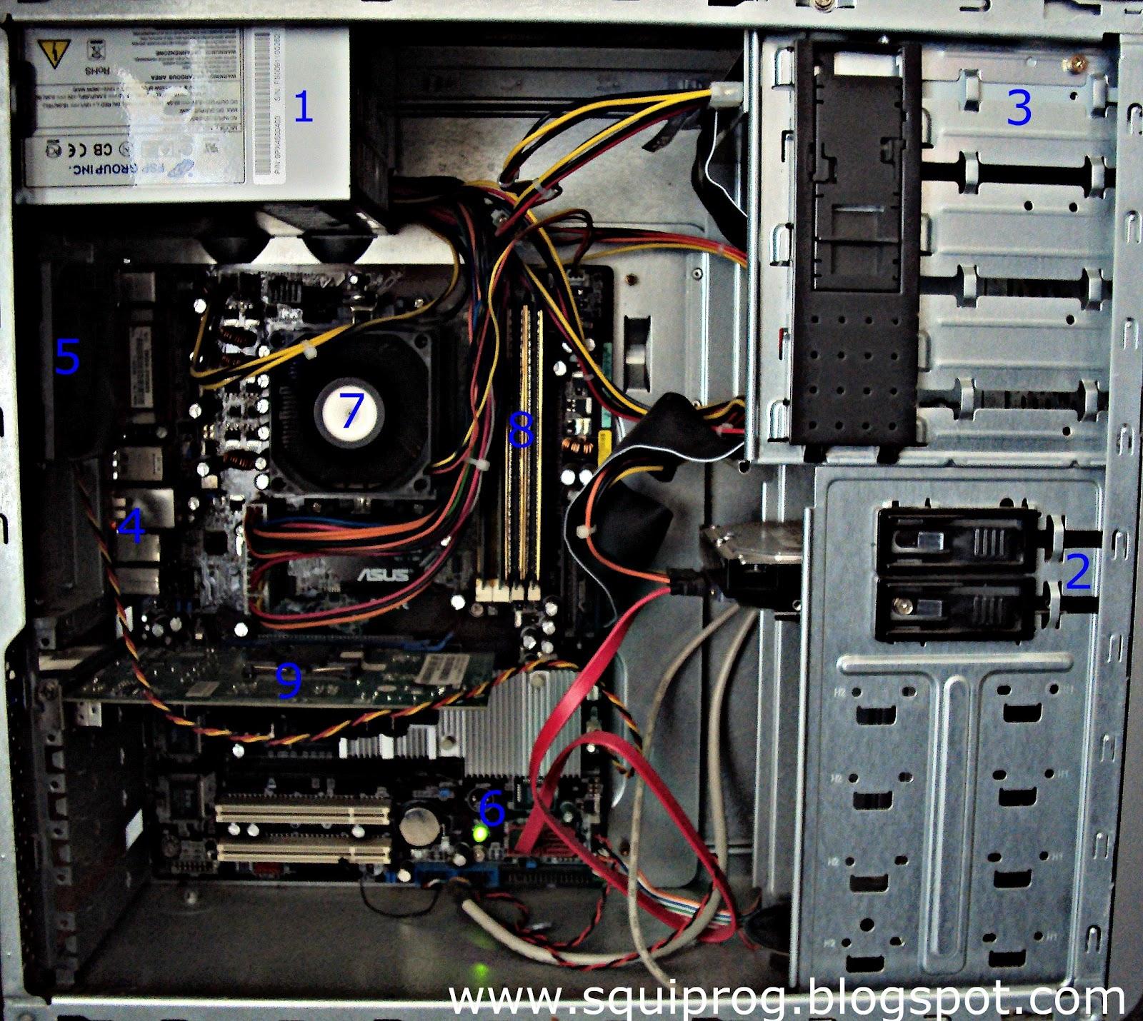 Системный блок компьютера. Описание и стоимость 50