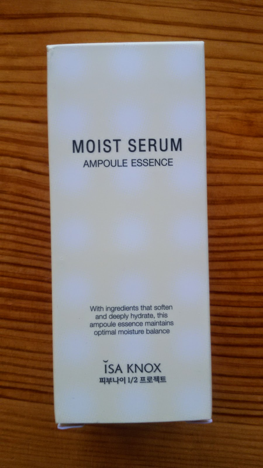 Isa Knox Moist Serum Ampoule Essence