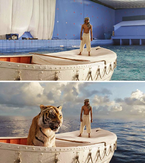 Before & After VFX Shots From Popular Movies & TV Show