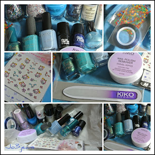 concours, blogversaire, récap des concours, concours nail art, jeans, lot bleu,