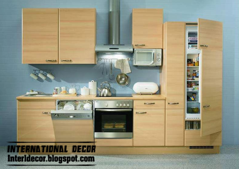 Cabinets modules designs for small kitchens - small cabinets designs