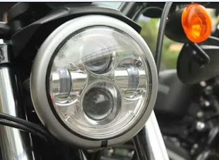 "7"" Harley headlight"