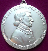 Jay Heritage Center Awards First John Jay Medals