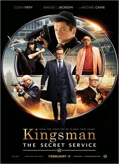 Download Kingsman Serviço Secreto AVI + RMVB Dublado Torrent