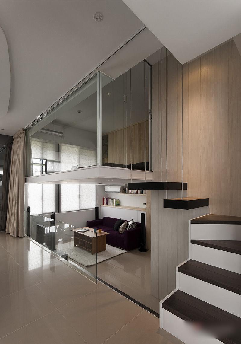 Small Loft Bedroom Real Home Design Architecture Interior Design Ideas Modern