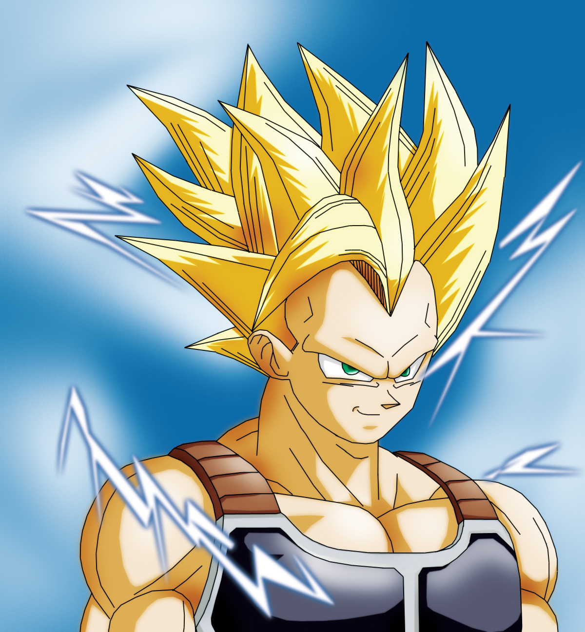 Dragon ball z wallpapers raditz super saiyan - Super sayen 10 ...