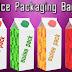 Juice packaging is the word