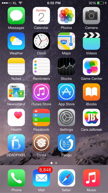 Как сделать на айфоне во весь экран при входящем звонке