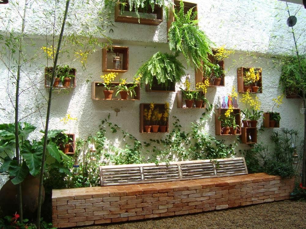 Jardim Suspenso  Pallets Decor