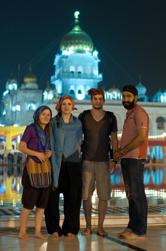 Храм сикхов в Дели