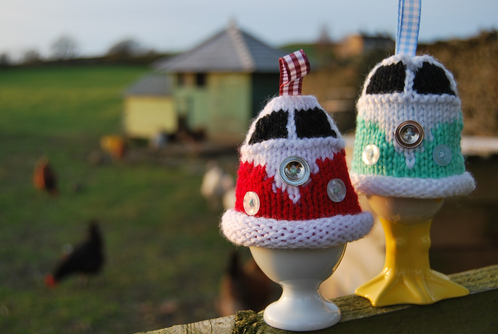Snug in a Dub: Knit a Campervan Egg Cosy for Easter