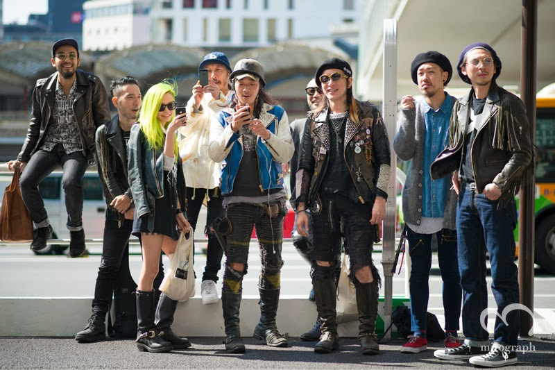 mitograph Eriko Nakao after 99percentis Tokyo Fashion Week 2014 Spring Summer MBFWT Street Style Shimpei Mito