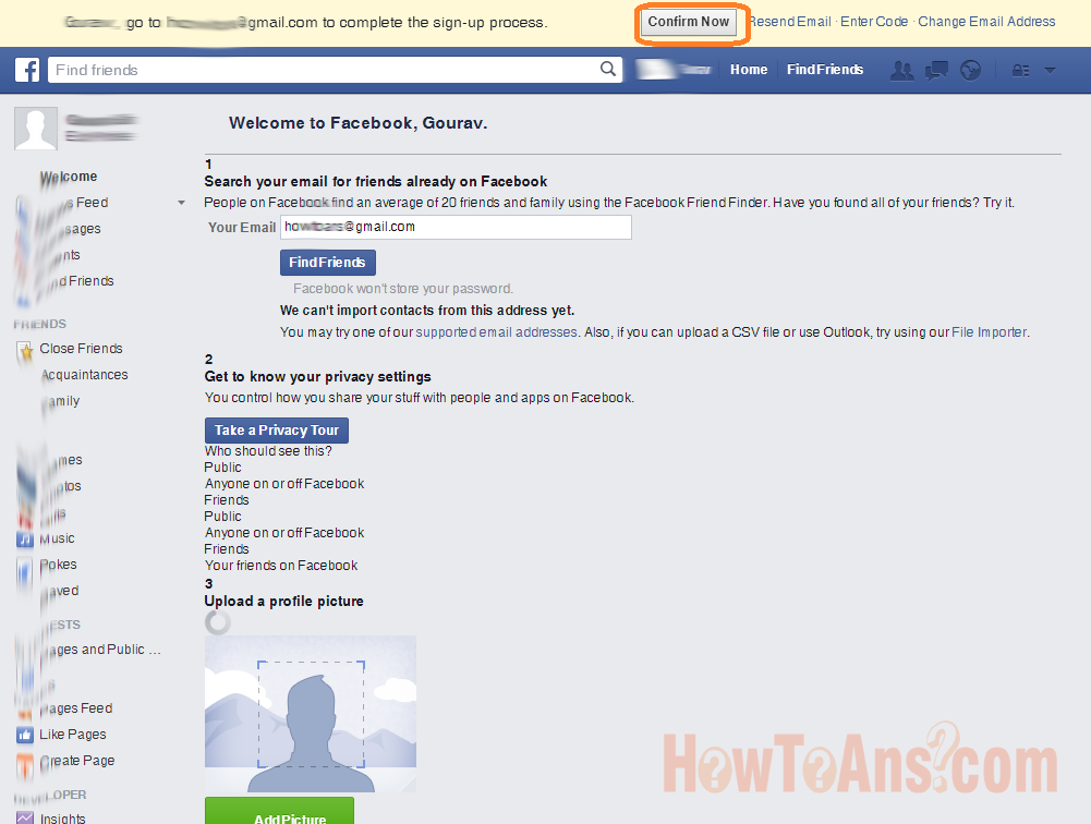 how to create a facebook account for a company